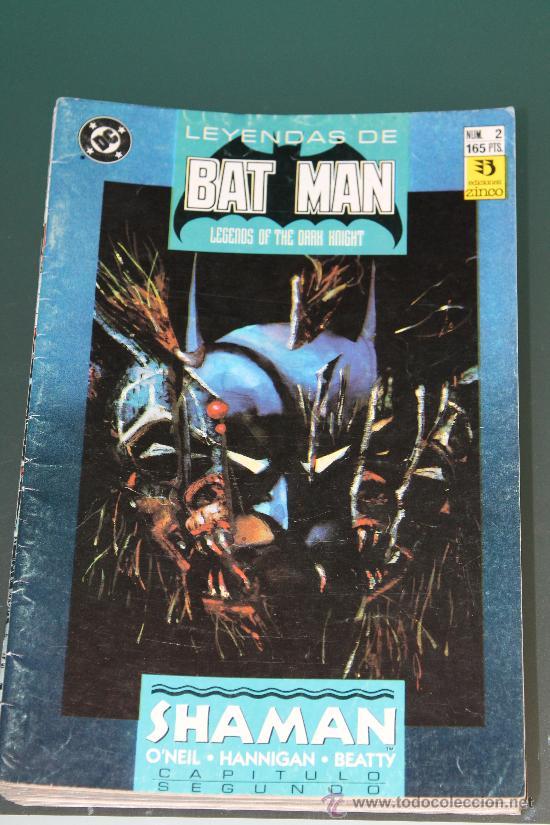 LEYENDAS DE BATMAN 2 EDICIONES ZINCO (Tebeos y Comics - Zinco - Batman)