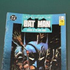 Cómics: LEYENDAS DE BATMAN 2 EDICIONES ZINCO. Lote 36310367