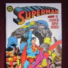 Cómics: SUPERMAN Nº 19. CONTRA LA LEGION DE SUPER-HEROES. JOHN BYRNE, KARL KESEL - ZINCO. Lote 171110018