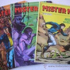 Cómics: LOTE MISTER NO Nº 11- 14 Y 15 EDICIONES ZINCO. Lote 36617850