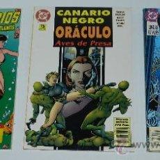 Comics: LOTE DE 3 COMICS, LEGIONARIOS, VACACIONES EN ATLANTIS VOLUMEN ESPECIAL, CANARIO NEGRO, ORACULO, AVES. Lote 36811409