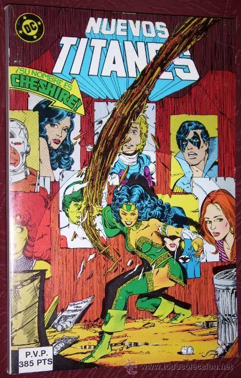 COMIC RETAPADO NUEVOS TITANES 5T (NÚMEROS 43-44-45-46-47) DE ED. ZINCO EN 1985 (Tebeos y Comics - Zinco - Retapados)