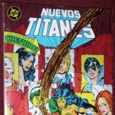 Cómics: COMIC RETAPADO NUEVOS TITANES 5T (NÚMEROS 43-44-45-46-47) DE ED. ZINCO EN 1985. Lote 36831248