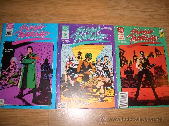 SLASH MARAUD 1-3 (ZINCO, 1990) (Tebeos y Comics - Zinco - Retapados)
