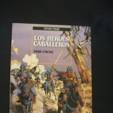 Cómics: LOS HEROES CABALLEROS - PERD - CHEVAL - EDICIONES ZINCO - . Lote 36904112