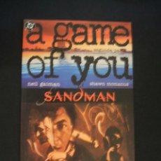 Cómics: SANDMAN - A GAME OF YOU - SEGUNDA PARTE - NEIL GAIMAN - ZINCO - EXCELENTE ESTADO - . Lote 36932040