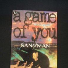 Cómics: SANDMAN - A GAME OF YOU - CUARTA PARTE - NEIL GAIMAN - ZINCO - EXCELENTE ESTADO - . Lote 36932086