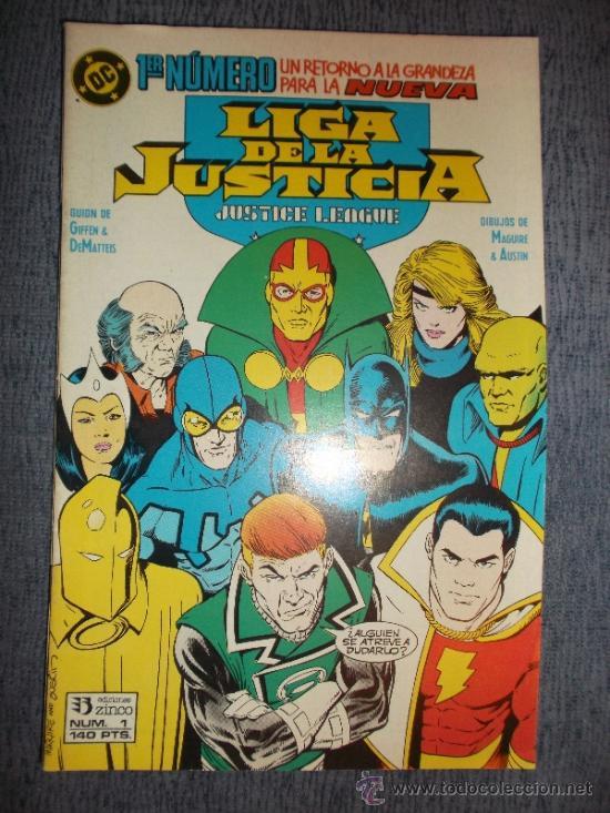 LIGA DE LA JUSTICIA Nº 1 (DE 54) (Tebeos y Comics - Zinco - Liga de la Justicia)