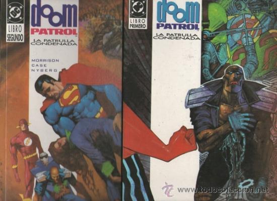 DOOM PATROL..GRANT MORRISON.ZINCO SERIE COMPLETA 2 NUMEROS.1992 (Tebeos y Comics - Zinco - Prestiges y Tomos)