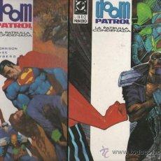 Cómics: DOOM PATROL..GRANT MORRISON.ZINCO SERIE COMPLETA 2 NUMEROS.1992. Lote 37047864