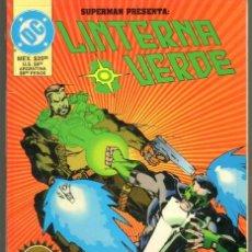 Cómics: TEBEOS-COMICS GOYO - SUPERMAN PRESENTA: LINTERNA VERDE - GREEN LANTERN - EDICION DE COLECCION **BB99. Lote 37152670