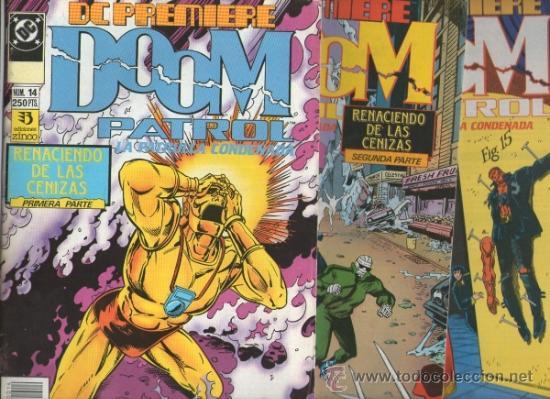 DC PREMIERE Nº 14,15 Y16.DOOM PATROL RENACIENDO DE LAS CENIZAS.GRANT MORRISON.ZINCO (Tebeos y Comics - Zinco - Patrulla Condenada)
