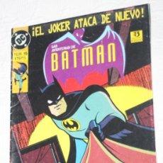 Cómics: LAS AVENTURAS DE BATMAN NUM. 16 :¡ EL JOKER ATACA DE NUEVO!. Lote 58016509