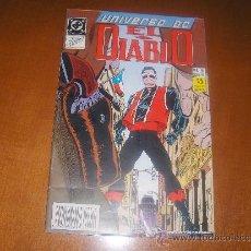 Cómics: EL DIABLO - UNIVERSO DC N19 - 50 PAGINAS - ZINCO - AÑO 1990 - . Lote 37296504