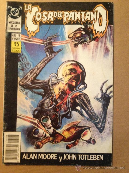 LA COSA DEL PANTANO - Nº 8 - EDIC. ZINCO / AÑO 1990 (Tebeos y Comics - Zinco - Cosa del Pantano)