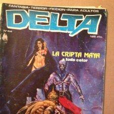 Cómics: DELTA - Nº 44 / EDIC. ZINCO / AÑO 1980. Lote 37409299