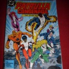 Cómics: ZINCO DC - PATRULLA CONDENADA NUMERO 8 NORMAL ESTADO. Lote 37509082