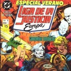 Cómics: LIGA DE LA JUSTICIA EUROPA ESPECIAL VERANO Nº1. Lote 37542022