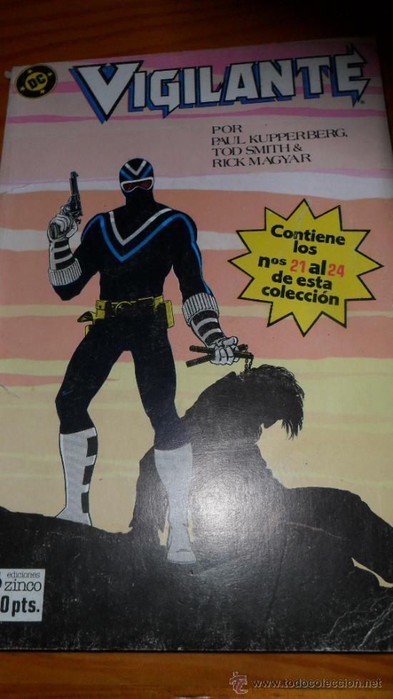 EL VIGILANTE RETAPADO DEL Nº 21 AL 24.- (Tebeos y Comics - Zinco - Retapados)