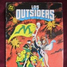 Cómics: LOS OUTSIDERS Nº 25. ALAN DAVIS. EDICIONES ZINCO. DC COMICS 1986. Lote 37676855