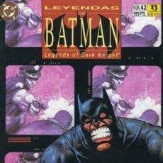 Cómics: LEYENDAS DE BATMAN NUMEROS 42-43 TERRITORIO COMPLETA 2 NUMEROS. Lote 37697340