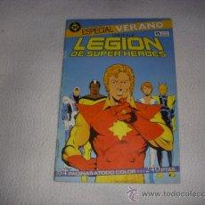 Cómics: LEGION DE SUPER HEROES ESPECIAL VERANO, EDITORIAL ZINCO. Lote 37743002