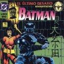 Cómics: BATMAN - EL ULTIMO DESAFIO Nº1. Lote 126030206