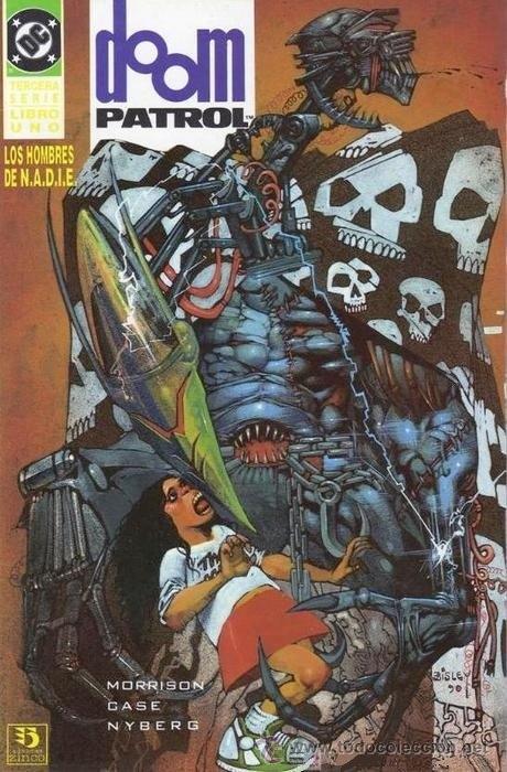 DOOM PATROL LOS HOMBRES DE N.A.D.I.E PATRULLA CONDENADA COLECCION COMPLETA DE 2 . ZINCO COMO NUEVOS (Tebeos y Comics - Zinco - Patrulla Condenada)