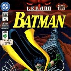Cómics: BATMAN (EDITORIAL VID) Nº260. Lote 37825271