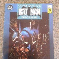 Cómics: LEYENDAS DE BATMAN Nº 2. Lote 38020716