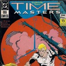 Cómics: TIME MASTERS. SERIE COMPLETA EN UN RETAPADO.. Lote 38035559