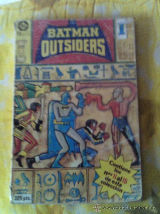 BATMAN OUTSAIDER Nº 11 AL Nº 15 (Tebeos y Comics - Zinco - Batman)