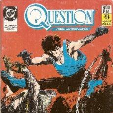 Cómics: QUESTION - RETAPADO 21 AL 25 - O'NEIL, COWAN Y JONES - EDICIONES ZINCO - DC - 1988. Lote 151681817