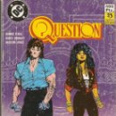 Cómics: QUESTION - RETAPADO 26 AL 30 - O'NEIL, COWAN Y JONES - EDICIONES ZINCO - DC - 1988. Lote 151681646