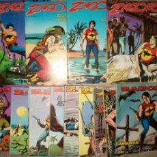 Comics : ZAGOR (ZINCO) (LOTE DE 14 NUMEROS) VER DESCRIPCION. Lote 38230636