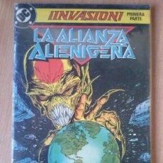 Cómics: LA ALIANZA ALIENIGENA ¡INVASIÓN! - Nº 1. Lote 183418345