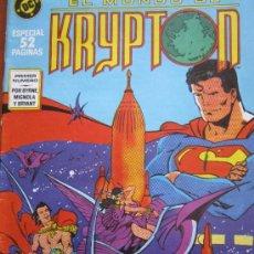 Cómics: EL MUNDO DE KRYPTON Nº 1 ZINCO - RARO. Lote 38495353