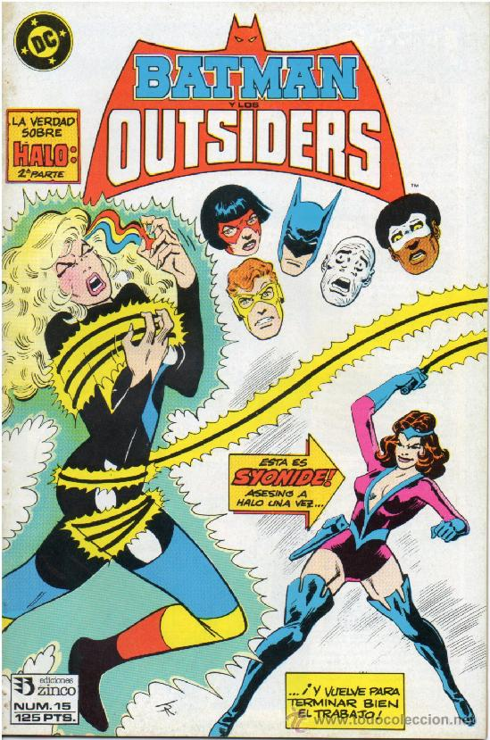 COMIC : BATMAN Y LOS OUTSIDERS Nº 15. ( DC - ZINCO ) (Tebeos y Comics - Zinco - Outsider)