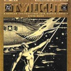 Cómics: TWILIGHT LIBRO 1 (ZINCO,1991) - PRESTIGE - HOWARD CHAYKIN - JOSE LUIS GARCIA LOPEZ. Lote 38640504
