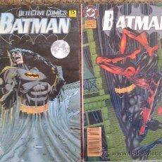 Cómics: BATMAN 2 COMICS -- ESPECIAL Nº 1 Y ESPECIAL Nº 2 --. Lote 38645916