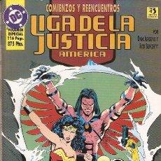 Comics - LIGA DE LA JUSTICIA: COMIENZOS Y REENCUENTROS. TOMO - 41466924