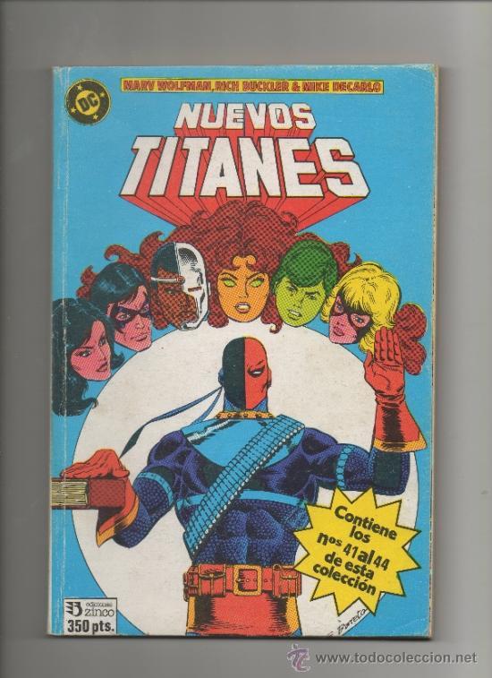NUEVOS TITANES VOL. 1 RETAPADO NUMEROS 41 AL 44.ZINCO (Tebeos y Comics - Zinco - Nuevos Titanes)