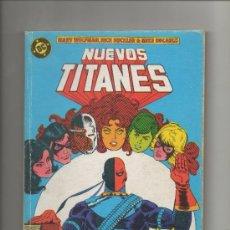 Cómics: NUEVOS TITANES VOL. 1 RETAPADO NUMEROS 41 AL 44.ZINCO. Lote 38876868