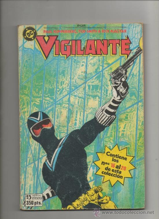 VIGILANTE.RETAPADO CON 5 NÚMEROS DEL 16 AL 20 - DC COMICS - ZINCO (Tebeos y Comics - Zinco - Retapados)