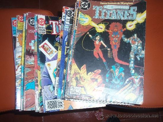 LOS NUEVOS TITANES VOL.2 ZINCO 1 AL 41 COMPLETA (Tebeos y Comics - Zinco - Nuevos Titanes)