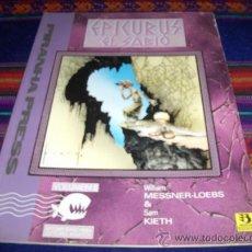 Cómics: EPICURUS EL SABIO VOLUMEN I Y II. LOS MUCHOS AMORES DE ZEUS. ZINCO 1993. 875 PTS. DIFÍCILES!!!!!!!!. Lote 39000167