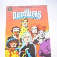 Cómics: LOS OUTSIDERS Nº 26 ULTIMO NUMERO ZINCO DC ALAN DAVIS C42. Lote 39021036