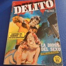 Cómics: DELITO NUM. 1 RETAPADO CON LOS NUMS. 1 A 7 - EDICIONES ZINCO - RELATOS GRAFICOS EROTICOS. Lote 39150660