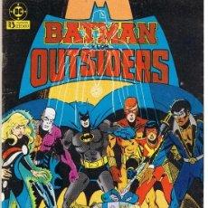 Cómics: BATMAN Y LOS OUTSIDERS. LOTE DE 2 NUMERO: 6 Y 14 ZINCO. Lote 39128899