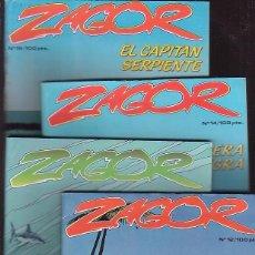 Cómics: ZAGOR - LOTE DE 10 EJEMPLARES, ( ZINCO - DC ). Lote 39325889